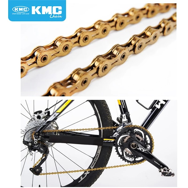 8//9//10//11 Speed Bike Chain MTB Road Racing Bicycle Hollow 116 Links Cycling
