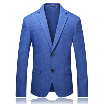 Fashion Suits for Men Classic Style Jacket Suits Blue Slim Fit Business Casual Brand Non Ironing Men Male High Quality Gent Life