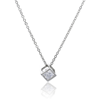 Crystal Rhinestone Pendant Necklace For Women