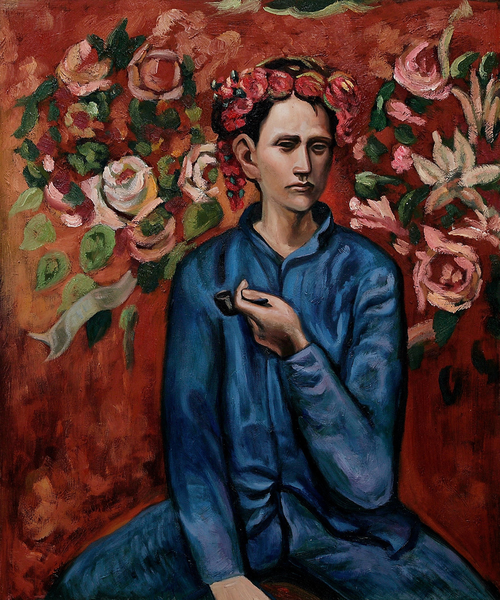 Pablo PICASSO Famous-arts-oil-painting-Boy-with-Pipe-by-Pablo-Picasso-museum-landscape-oil-painting-on-canvas