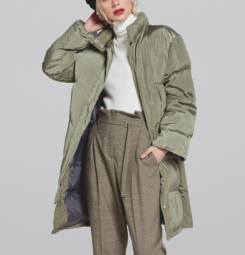 Sur Femmes Genoux as Coréenne Longue as Vêtements as Les Coton New as Épais Photo 3 1 Version 4 Chaud La Taille Pain 5 Grande As Hiver Veste 2 Section De 8TSZwq