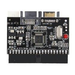 2 в 1 IDE SATA/SATA к IDE адаптер конвертер Поддержка Serial ATA 40pin IDE порт Serial ATA порт 4-контактный разъем питания QJY99