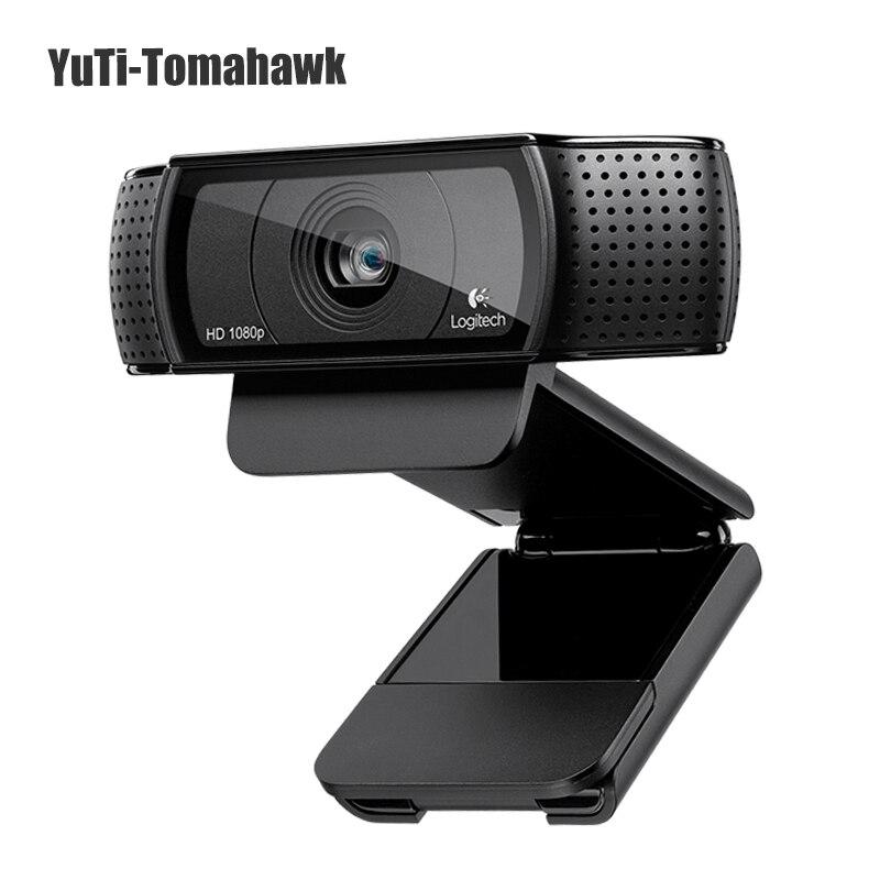 Fotocamera conferenza 100% Logitech HD Webcam C920 Pro 1080 p Webcam Video Recording, 15 Milioni di Pixel con l'imballaggio al dettaglio