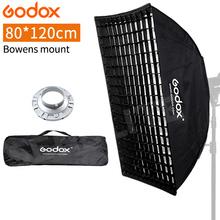"""Godox FW80x120cm/32 """"* 47"""" Portable Softbox mit Bowens Berg + Grid + Tragetasche für Fotografie Studio Speedlite Strobe"""