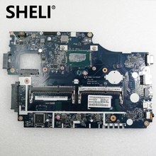 SHELI For Acer aspire E1-532 E1-532P E1-572G Laptop Motherboard NBMFM11008 V5WE2 LA-9532P MAIN BOARD I7-4500U CPU DDR3L