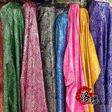 Jacquard Brocade Costume hanfu formal dress cheongsam baby clothes cos damask fabric woven mdash Pipa flower series 10