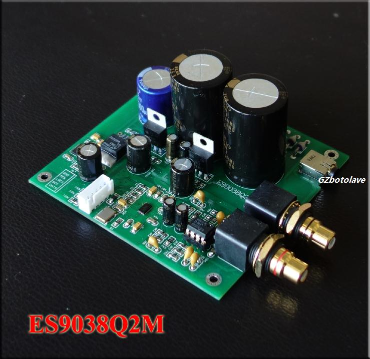 Es9038 Q2m I2s Dsd Optical Coaxial Input Decoder Usb Dac Headphone Output Hifi Audio Amplifier Board Module We Take Customers As Our Gods Operational Amplifier Chips
