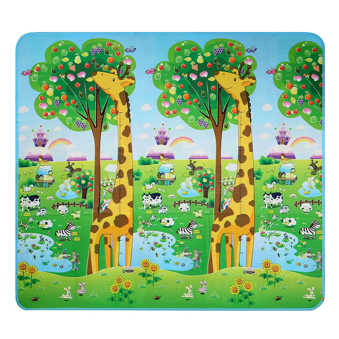 2018 New Baby Kid Toddler Play Crawl Mat Carpet Foam Blanket Rug for In/Out Doors