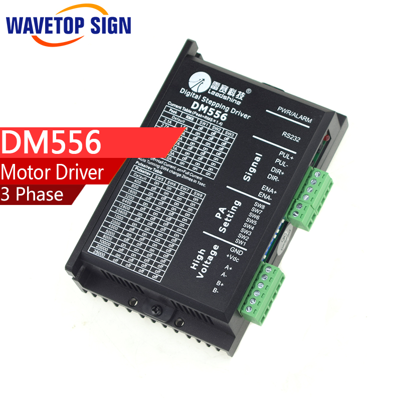 цена на Leadshine 3 Phase digital Stepper Driver DM556 VDC20-50V 5.6A 2PHASE