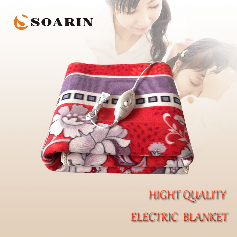 ᗗSOARIN Electric Blanket Double for Beds Manta Electrica