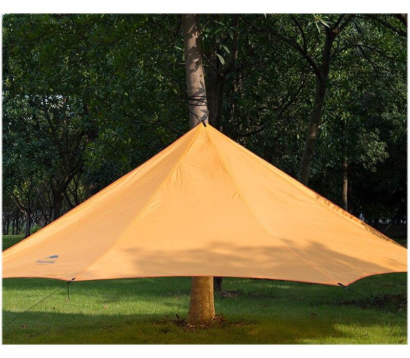 Naturehike Outdoor Sunshade Waterproof Awning Camping Sun Shelter NH15T003-M 4 1 5m sun shelter sunshade camouflage tent outdoor waterproof awning sun shelter sunshade camping mat for picnic t15 0 5