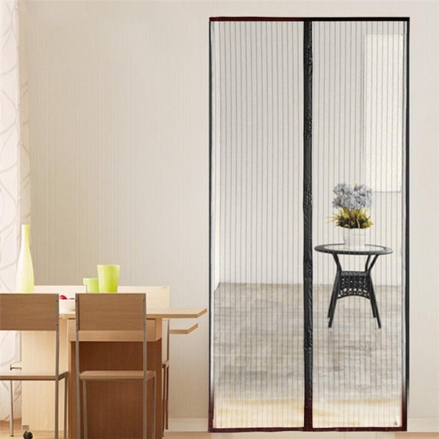 Bon 1Pcs Mosquito Net Magnetic Anti Mosquito Curtain Door Mesh Insect Screen  Door Mesh