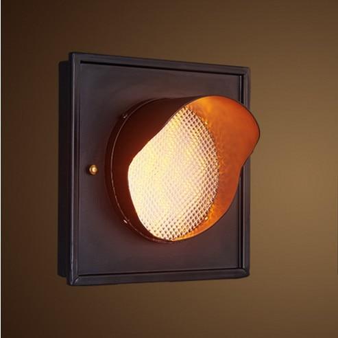 Ձեղնահարկ ոճով պատի լամպեր Տուն - Ներքին լուսավորություն - Լուսանկար 2