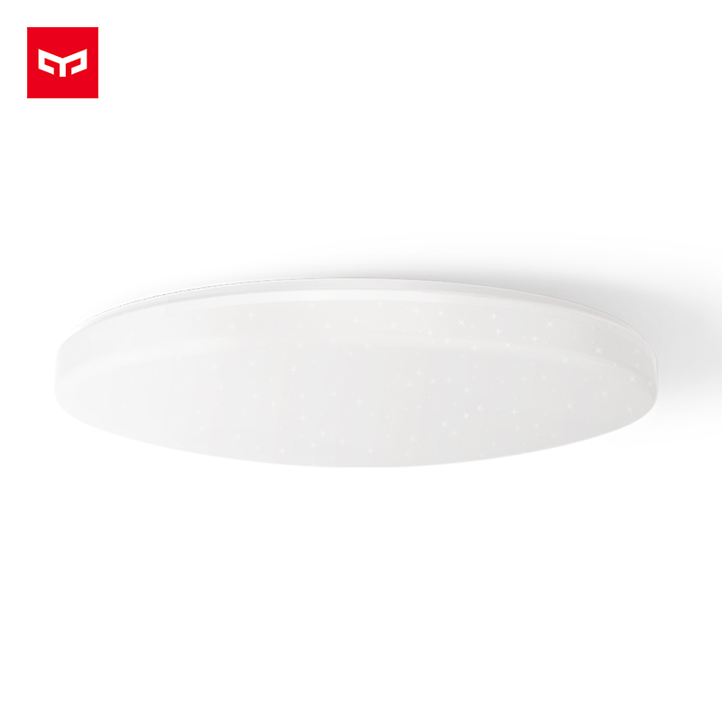 Original xiaomi YEELIGHT Ceiling Pro 650mm,RBBW Colorful Work with Mi home app & Amazon ECHO & Google Home For xiaomi smart Home xiaomi yeelight led ceiling pro 650mm rgb 50w work to mi home app and google home and for amazon echo for xiaomi smart home kits
