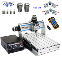CNC 3040Z DQ USB CNC Router 3040 CNC Engraving Drilling Milling Machine with Mach3 Remote Controller