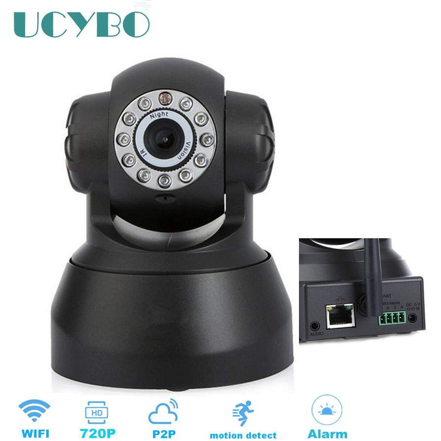 wireless ip font b camera b font 720p hd wifi IR night vision security network video