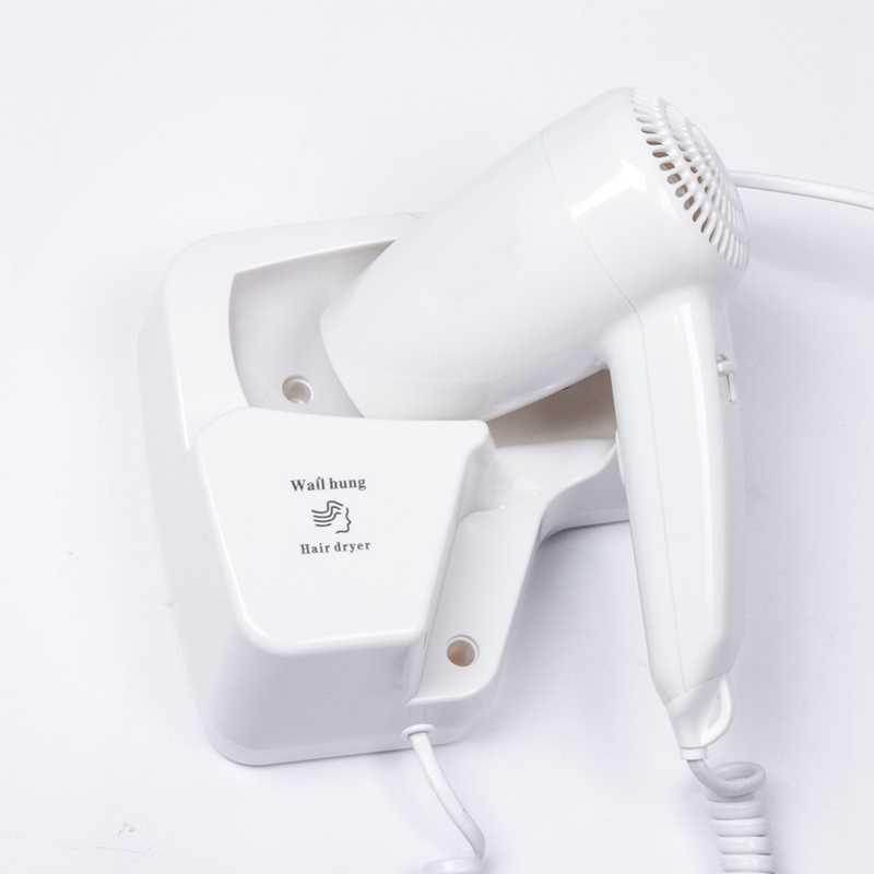 1300W elektryczna suszarka do włosów zimne i gorące powietrze cios łazienka ściany wiszące dmuchawy mocy, z gniazdo usb ue wtyczka