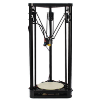 Full Metal Frame High Precision Pulley Version 3D Printer Easy Assembly DIY KIT High Quality Delta
