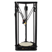 Full Metal Frame High Precision Pulley Version 3D Printer Easy Assembly DIY KIT High Quality Delta 3D Printer Send From Moscow