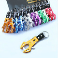 6 pcs/lot Durable Climb Hook Carabiner Clip Lock Keychain Keyring Useful Free Shipping