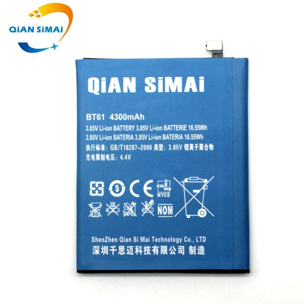 QiAN SiMAi 4300 mAh 2017 nouveau BT61 BT 61 batterie pour Meizu M3 Note M3Note M681H M681 (pas adapte pour L681H L-version) + numéro de piste