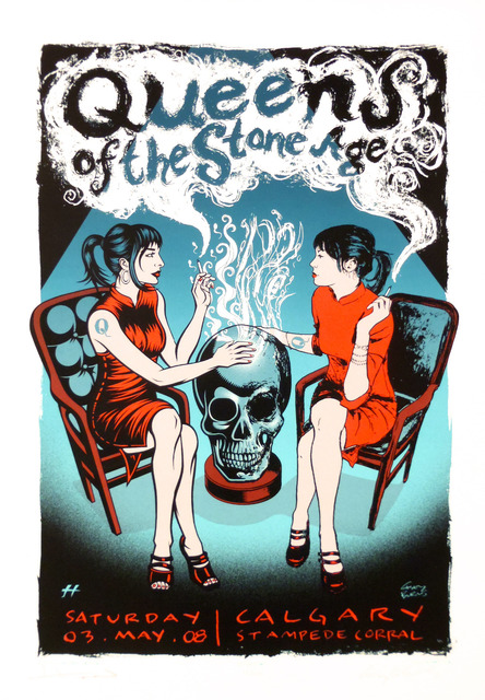 Queens of the Stone Age Music Class Propaganda Vintage Kraft Decorative Poster