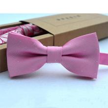 2019 Hot Sale Cute Kids Bow Tie Children Candy Color Necktie Fashion Baby Boy Girl Wedding Dress Accessories Bowties