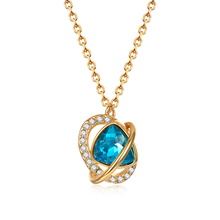 High quality SWA SWA shiny heart-shaped dance Necklace 1:1 has a logo. Elegant women's necklaces мультиварка vitesse vs 520