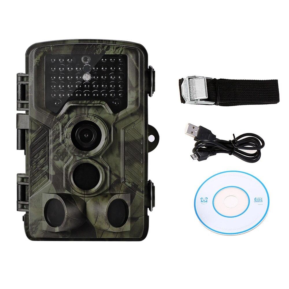 Lixada 12MP 1080 P Vision nocturne caméra de chasse sauvage caméra de suivi caméra de repérage de la faune avec capteur PIR 0.5 s déclencheur Super rapide