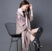Women's Sweaters For Winter 2018 Female Wrap and Swing Leisure Long Sleeve Slim Thin Out jacket Long section Tops