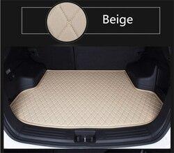 Auto Cargo Liner maty bagażnika do Mercedes-Benz E klasa W212 E63AMG 2014 2015 Boot Mat wysokiej jakości fabrycznie nowy haft skórzana