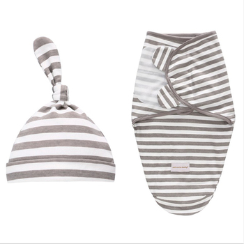 طفل الوليد قماش للف الرضع القطن الطفل تلقي بطانية الفراش الكرتون لطيف الرضع كيس النوم لمدة 0-6 أشهر