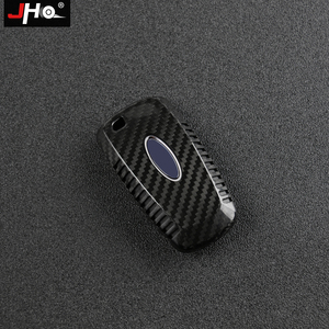 Image 4 - JHO REAL Carbon Remote Key Fob Shell Case Key Cover For Ford Explorer 2016 2019 2018 2017 XLT Limited Sport Car Accessories