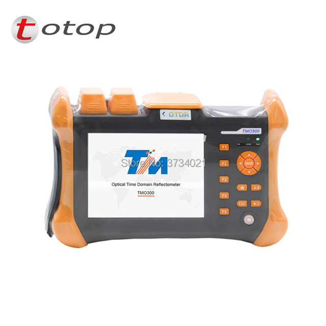 TMO-300-SM-C 32/30dB 1310/1550nm SM OTDR Tester Built-in 10mW VFL Optical Fiber Test Tools