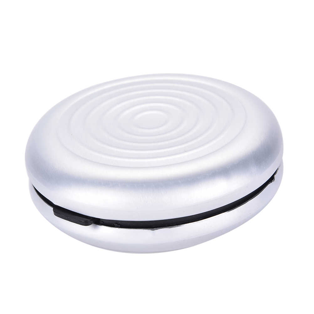 صندوق عملة بالدولار الاوروبي موزع العملات المعدنية محفظة محفظة حوامل صندوق تخزين سبائك الألومنيوم + منظم صناديق المال البلاستيكية