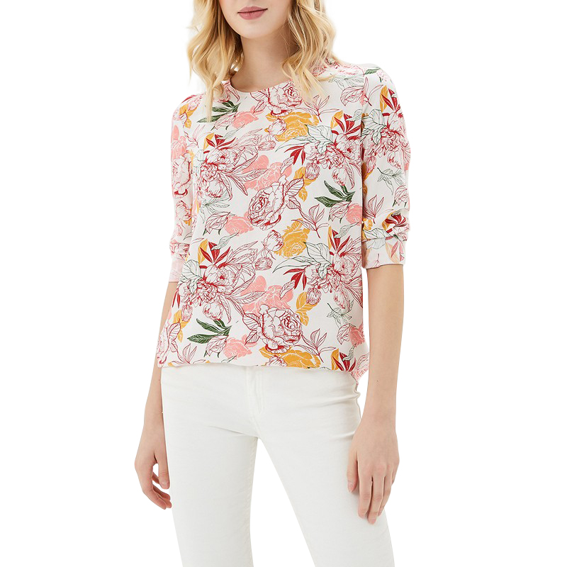 Blouses & Shirts MODIS M181W00404 woman blouse shirt blusas for female TmallFS blouse narducci blouse