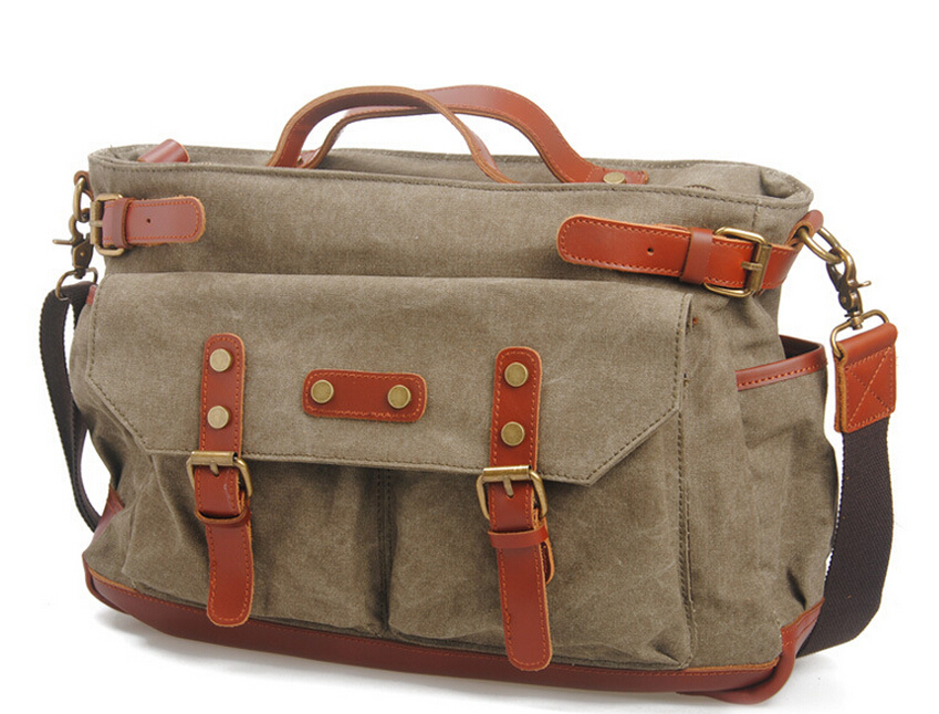 2017 New Solid Casual Original Canvas Men Large Carry on Luggage Male  Duffel Laptop Travel Tote 44bae691c26c9