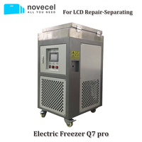 Novecel Q7pro 110 V 185 градусов ЖК дисплей замораживающее сепарационное устройство для samsung край Стекло Ремонт Замена