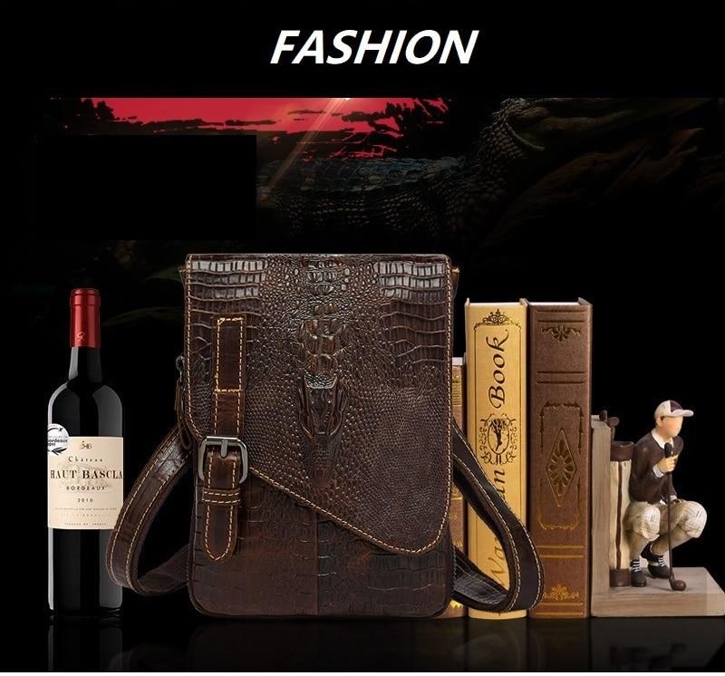 HTB1K3qAlZnI8KJjSsziq6z8QpXa7 Men Crocodile Classic Briefcase Genuine Leather Business Office Ipad Bag Lawyer Handbag Portfolio Satchel Alligator Shoulder bag