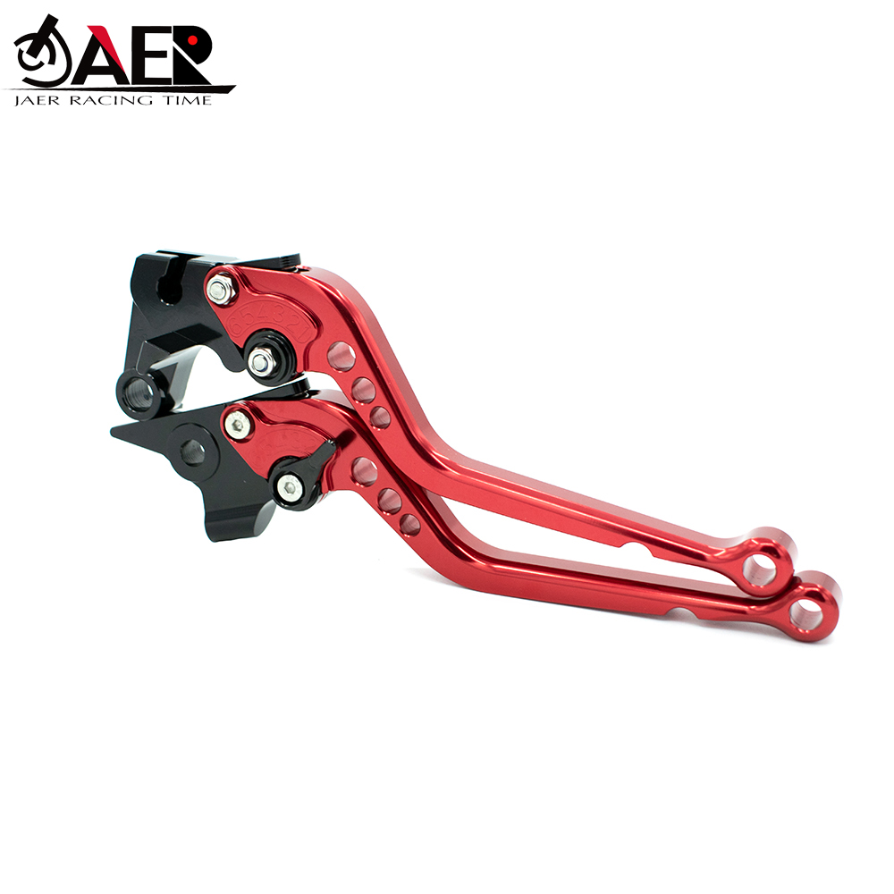Image 2 - JEAR CNC Adjustable Motorcycle Brake Clutch Levers for Aprilia TUONO V4 1100RR Factory 2017 2018-in Levers, Ropes & Cables from Automobiles & Motorcycles