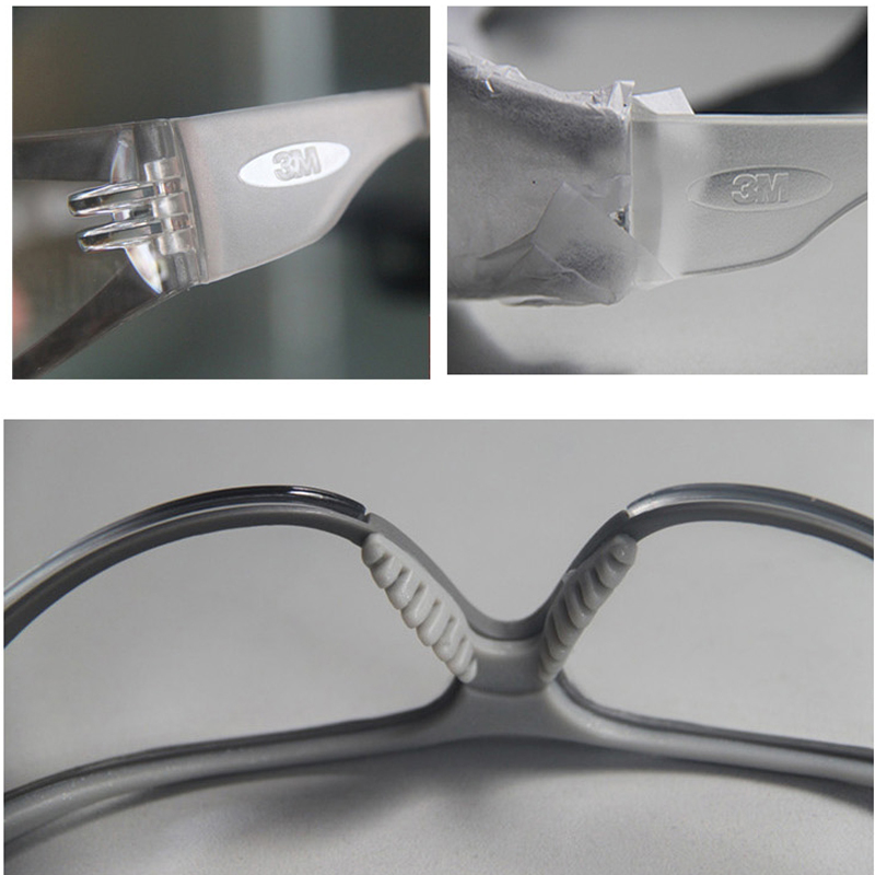 3M 11394 Säkerhetsglasögon Glasögon Anti-dimma Antisand vindtät - Säkerhet och skydd - Foto 6