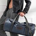 Negro de la motocicleta de corea bolsa impermeable bolsos crossbody bolsas de mano Multicolor adolescentes bolsas nueva moda retro bolsas de viaje