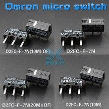 OMRON Rato Micro Interruptor D2FC-F-7N 10 M 20 M DE Botão Do Mouse D2FC-F-K (50 m) FL-NH D2FS-F-N D2F-F D2F-01F-T D2F-F-3-7 Frete grátis