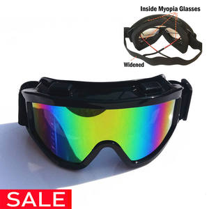 Ski-Glasses Cross-Country Anti-Shock-Protective-Goggles Allow Dustproof