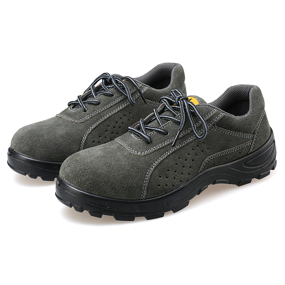 AC11008 Boots Steel Toe Work Safety Wear Shoes Slippers Man Security Shoe Footwear Building-F