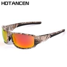 HDTANCEN 2017 Men's Frame Goggle Style Polarized Driving Sun Glasses Camouflage Frame Polar