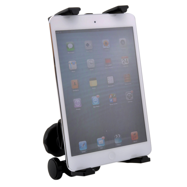 Pedestal de microfone Tablet Mount Holder Música Mic Braçadeira Para ipad 2 3 4 ipad mini