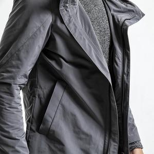 Image 4 - Simwood 2020 Lente Lange Jas Mannen Slim Fit Mode Bovenkleding Toevallige Hoge Kwaliteit Plus Size Jassen Merk Kleding JK017012