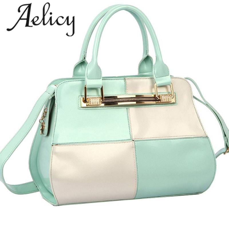 Aelicy Fashion Patchwork Pillow Handbags Women Evening Clutch Ladies Party Purse Famous Brand Shoulde Bags Bolsa Feminina new casual small patchwork pillow handbags hot sale women evening clutch ladies party purse famous brand shoulder crossbody bags