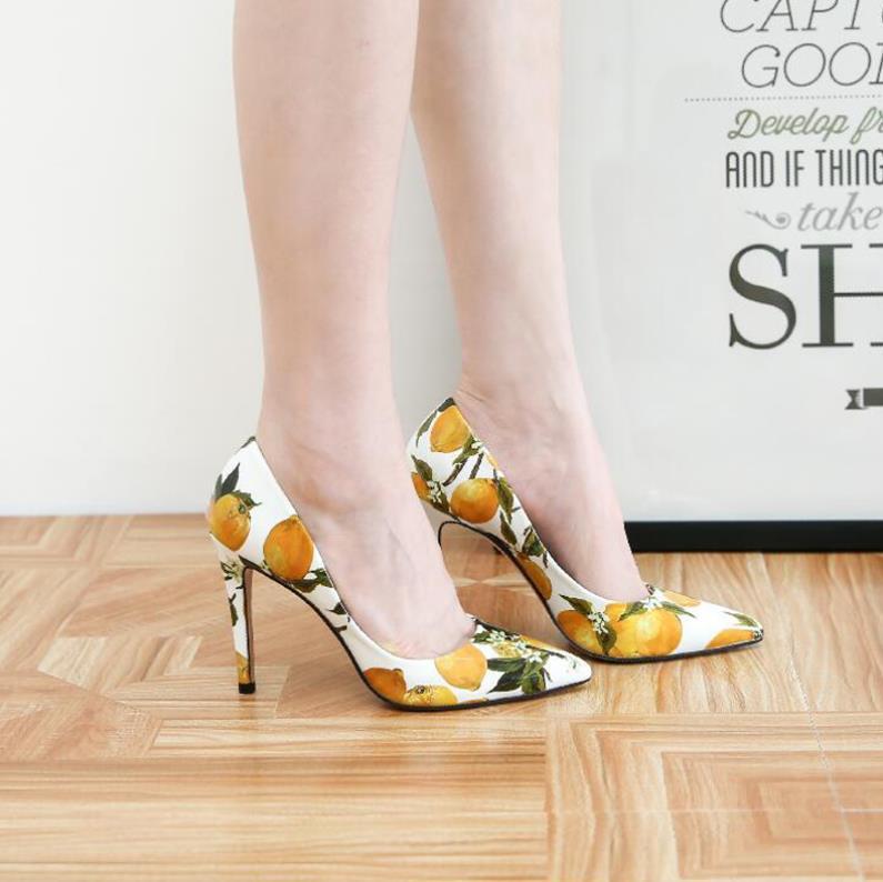 Peu Pointe Chaussures Noir Printemps D'été Et Laque Sexy De Profonde blanc Talons Haute Peau Mode Coréen Version La wxZpIaYZq